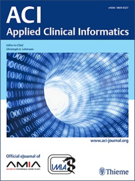 Applied Clinical Informatics