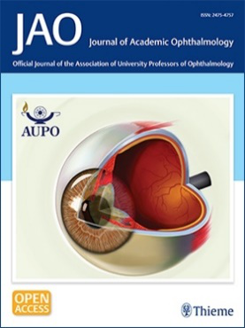 Journal of Academic Ophthalmology