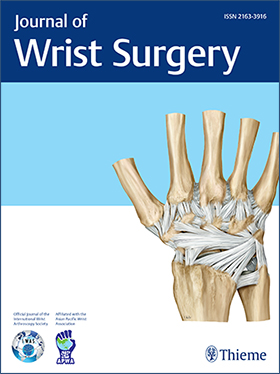 Journal of Wrist Surgery